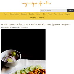 malai paneer recipe, how to make malai paneer