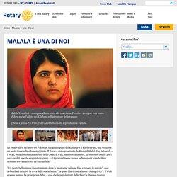 Malala è una di noi