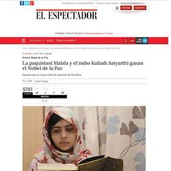 Malala gana Nobel de la Paz
