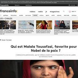 Qui est Malala Yousafzai, favorite pour le Nobel de la paix ?
