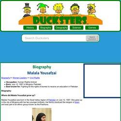Malala Yousafzai for Kids