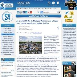 21/11/2014 - L'avion MH17 de Malaysia Airlines : Le compte-rendu d'un contrôleur aérien espagnol sur Twitter [traduit de l'espagnol]
