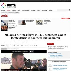 Three Australian planes searching for missing Malaysia Airlines flight MH370 in southern Indian Ocean