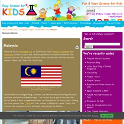 Malaysia Facts for Kids