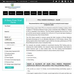FKLI Trading Strategy & Picks Provider - Malaysia