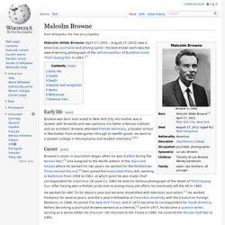 Malcolm Browne