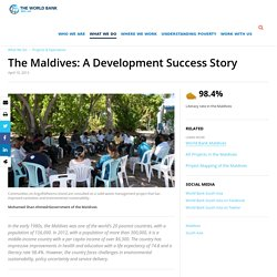 The Maldives: A Development Success Story
