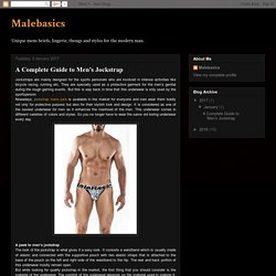 Malebasics: A Complete Guide to Men's Jockstrap