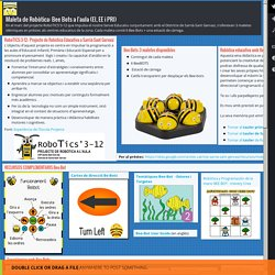 Maleta de Robòtica: Bee Bots a l'aula (EI, EE i PRI)