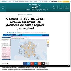 Cancers, malformations, AVC...Découvrez les données de santé région par région!