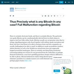 Thus Precisely what is any Bitcoin In any case? Full Malfunction regarding Bitcoin : ext_5511274 — LiveJournal