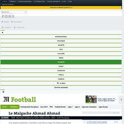 Le Malgache Ahmad Ahmad nouveau roi du football africain