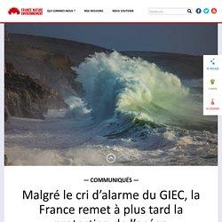 Malgré le cri d'alarme du GIEC, la France remet à plus tard la protection de l'océan