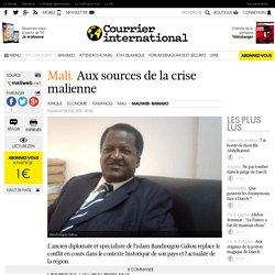 MALI. Aux sources de la crise malienne