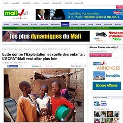 Lutte contre l'Exploitation sexuelle des enfants : L'ECPAT-Mali veut aller plus loin Mali Bamako