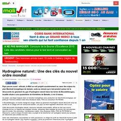 Une des clés du nouvel ordre mondial Bamako Mali