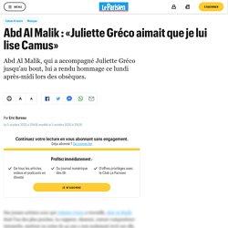 Abd Al Malik : «Juliette Gréco aimait que je lui lise Camus»