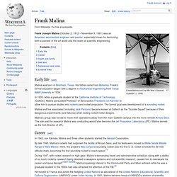 Frank Malina