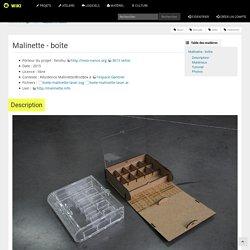 Malinette - boîte - Wiki de Reso-nance Numérique
