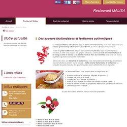 Restaurant Malisa - Paris - 75011 - Restaurant MALISA