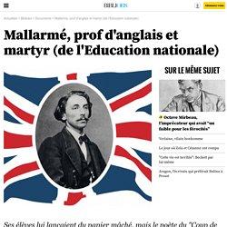 Mallarmé,prof d'anglais et martyr (de l'Education nationale) - 28 janvier 2015 - Bibliobs