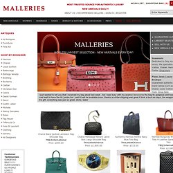 MALLERIES Authentic Luxury Bags, Jewelry, Accessories, more