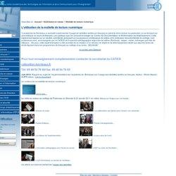 Tablette de lecture numérique