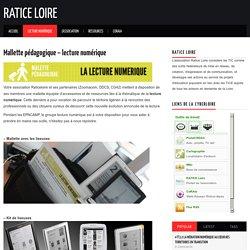 Mallette pédagogique – lecture numérique – Ratice Loire
