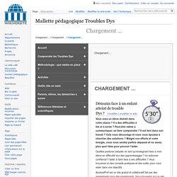 Mallette pedagogique Troubles Dys