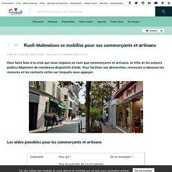 Rueil-Malmaison se mobilise pour ses commerçants et artisans