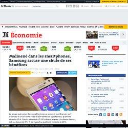 Malmené dans les smartphones, Samsung accuse une chute de ses bénéfices