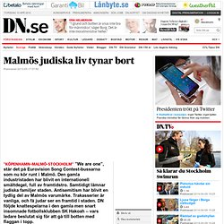 Malmös judiska liv tynar bort
