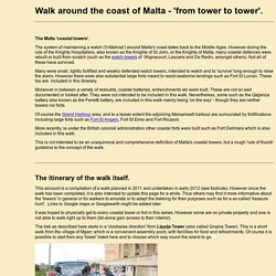 Malta coastal walk - tower to tower
