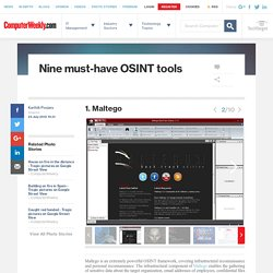 1. Maltego - Nine must-have OSINT tools