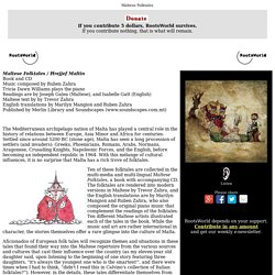 Maltese Folktales - Hrejjef Maltin / a RootsWorld review of folk tales and music