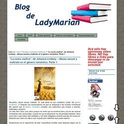 """""""La novia cautiva"""", de Johanna Lindsey – Abuso sexual y maltrato en el género romántico. Parte 1 : Blog de LadyMarian"""
