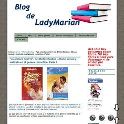 """""""La amante cautiva"""", de Shirlee Busbee - Abuso sexual y maltrato en el género romántico. Parte 3 : Blog de LadyMarian"""