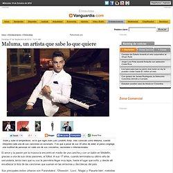 Maluma, un artista que sabe lo que quiere