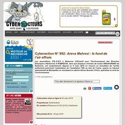 Areva Malvesi : le fond de lair effraie cyberaction
