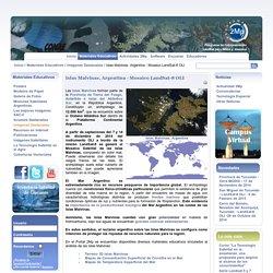 Islas Malvinas, Argentina - Mosaico LandSat-8 OLI