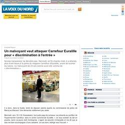 Un malvoyant veut attaquer Carrefour Euralille pour «discrimination à l'entrée»