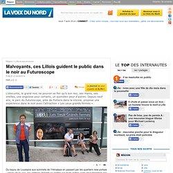 Malvoyants, ces Lillois guident le public dans le noir au Futuroscope - Lille et ses environs