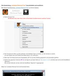 - Malware: Junkware Removal Tool