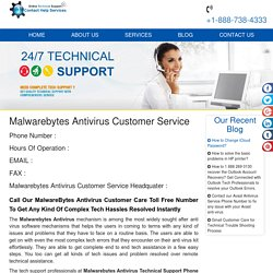 Call Us at 1-888-738-4333 Malwarebytes Antivirus Customer Support Service Number