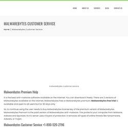 Malwarebytes Customer Service (1-800-215-0329) Phone Number USA