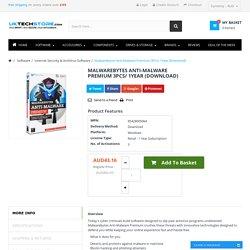 Buy Malwarebytes Anti-Malware Premium Online - (Download Version)