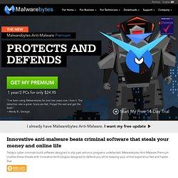 Anti-Malware: Malwarebytes
