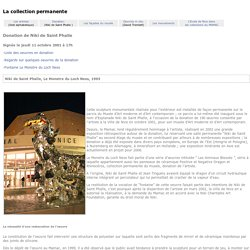 MAMAC de Nice - DONATION de NIKI DE SAINT PHALLE -