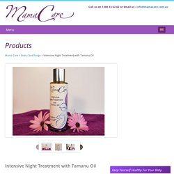 Mamacare Intensive Night Treatment Oil