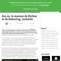 Sen.se, la maman de Mother et de Nabaztag, rachetée